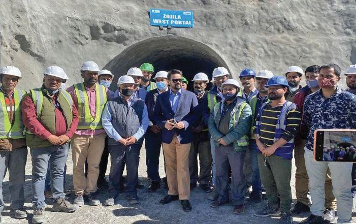 Zojila tunnel important for national security, development of J&K, Ladakh: Union minister