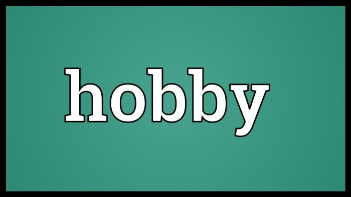 Does hobby have any age?