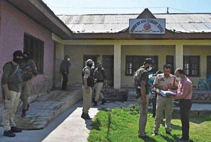 Militants kill two teachers inside school in Srinagar