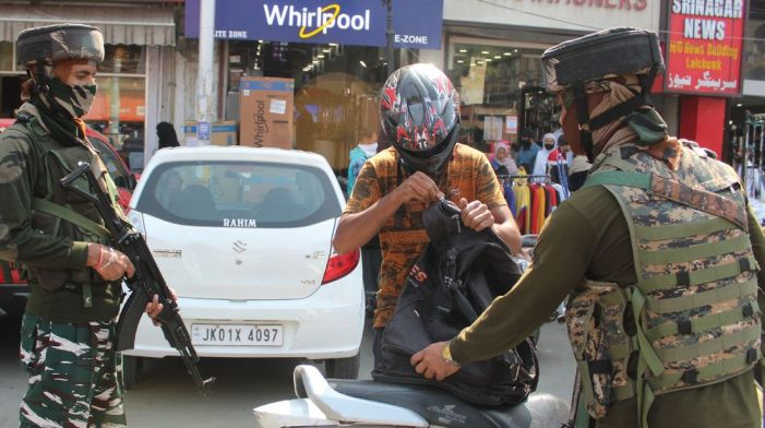 More forces, more barricades, more raids in Srinagar