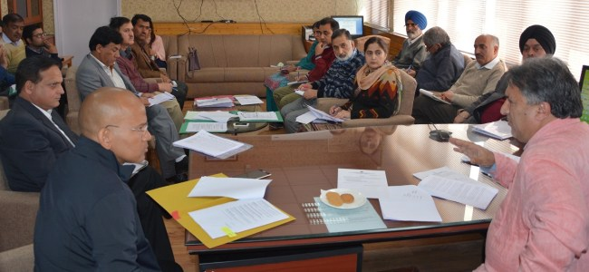 SDD has pivotal role to overcome unemployment in JK: Dr Samoon