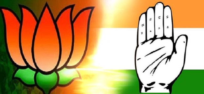 BJP, Cong trade charges over 'rajdharma'