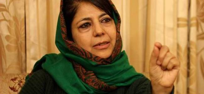Mehbooba blames new 'jersey' for India's defeat against England