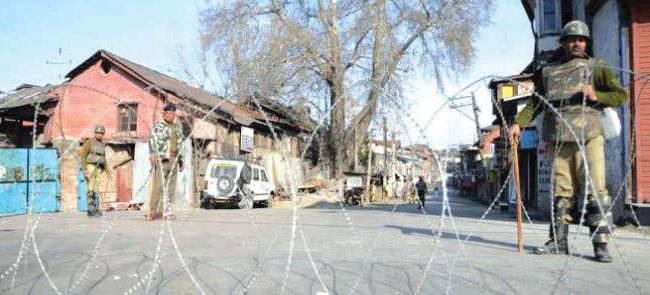 Shutdown in Sopore over recent local militants killing