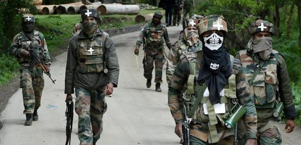 Forces carry out searches in Chandoosa, Shopian villages
