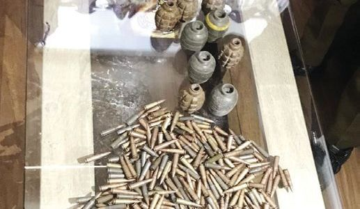 Huge cache of arms seized in J&K's Kathua