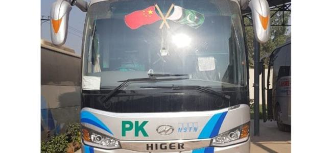 From Lahore, Pakistan-China luxury bus service on its maiden journey to Kashgar