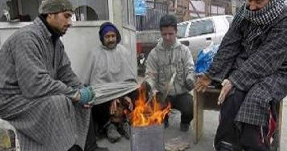 Night temperatures increase in Kashmir