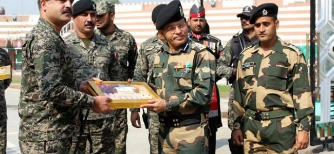 BSF, Pakistan Rangers exchange sweets