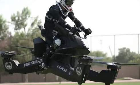 Dubai Police are set to take to the skies by 2020 on their new, flying motorcycles