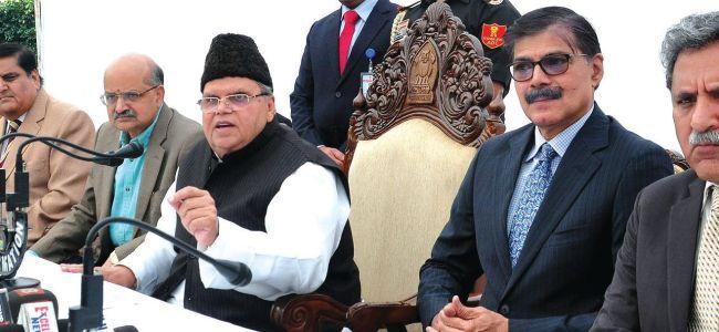 NC, PDP will participate in panchayat polls: Guv Malik