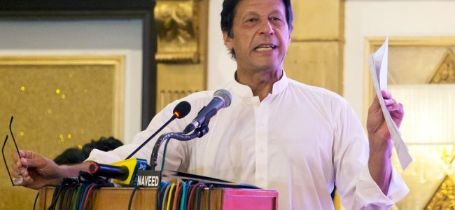 Sharif committed 'highest treason' by targeting security institutions: Imran
