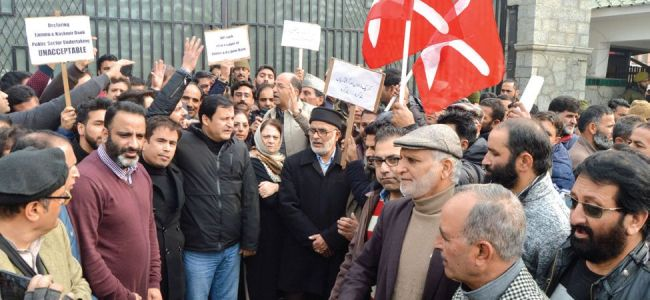 NC, AIP demand rollback of decision to treat J&K Bank as PSU