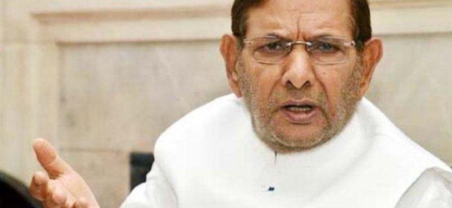 Democracy was murdered in JK, says Sharad Yadav