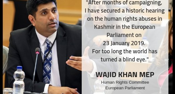European parliament to hold hearing on 'HR violations in Kashmir' in January