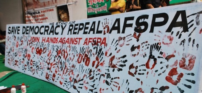 Nagaland gets AFSPA extension for another six months