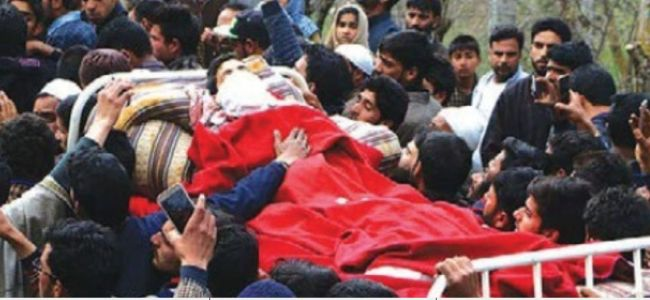Even a blood bath in Kashmir fails to garner emotions