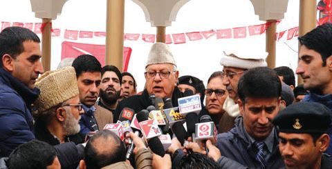 Farooq Abdullah's detention extended by 3 months