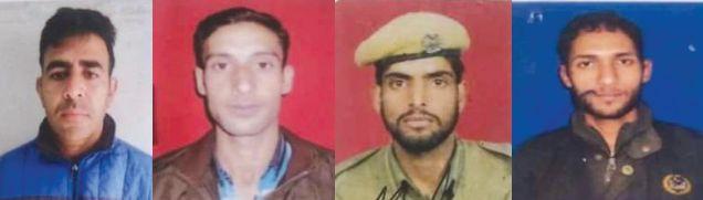 Four policemen killed by JeM militants in Shopian