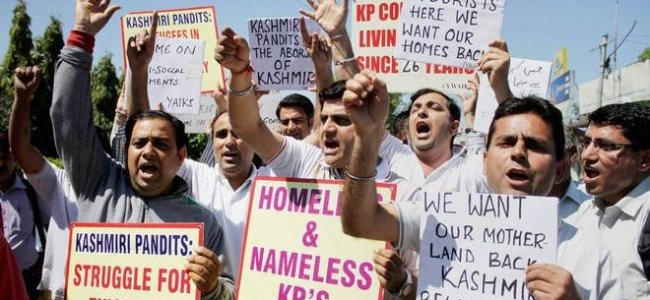 Panun Kashmir bats for homeland with UT status within valley