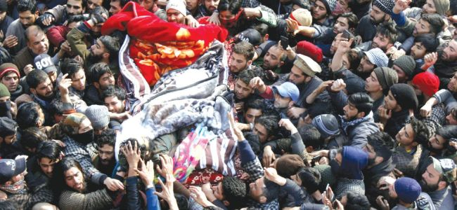 Like his father, Ishfaq died with a gun in his hand