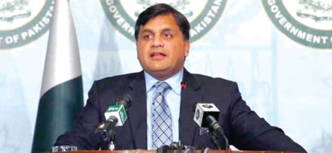 Kashmir issue our top priority: Pak Foreign Office