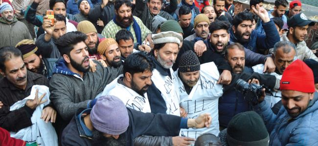 JRL's bid to march towards Army headquarter in Srinagar foiled
