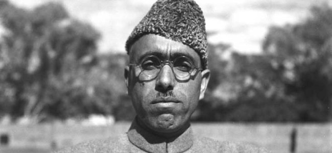 NC pays tribute to Sheikh Mohammad Abdullah