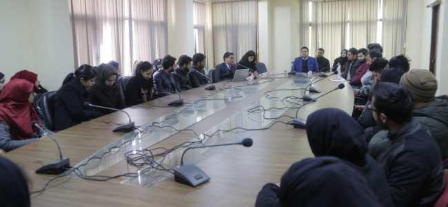 CUK's SLS organizes orientation programme