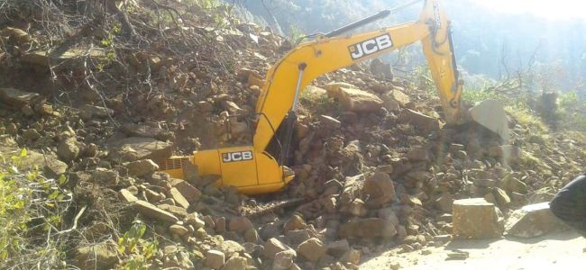 35 houses suffer damages as land caves in at Ramban