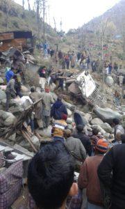 Poonch: 20 feared dead as bus falls in gorge