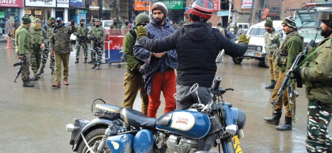 Ahead of Republic day, security beefed up in Srinagar