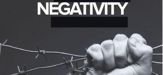 Erasing negativity in life