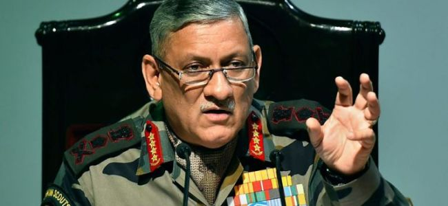 Gen Bipin Rawat warns Pakistan