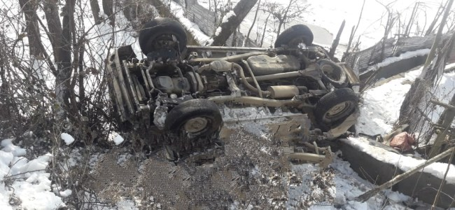 Three persons injured in Rafiabad road accident