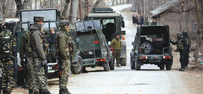 Three militants killed in Tral gunfight