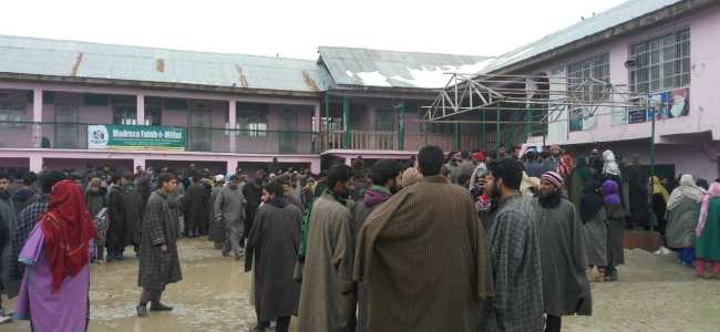 Ten students injured in mysterious blast in Pulwama