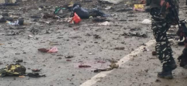 12 CRPF men killed in Lethpora car bomb attack