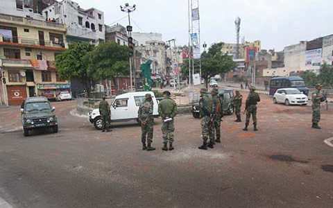 Jammu: Curfew relaxed in different areas, section 144 to