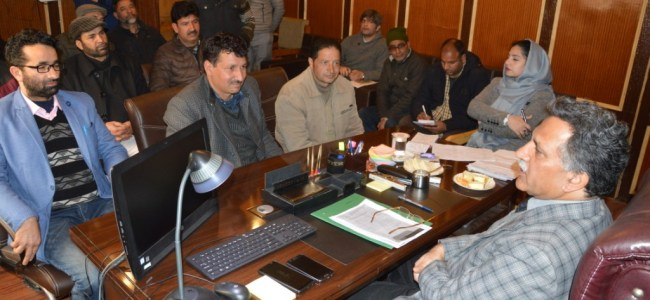 Advisor Ganai to conduct public hearing at Srinagar on May 23