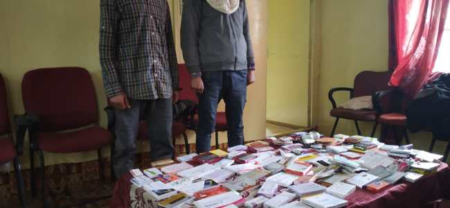 Stolen medicines recovered, two held: Police