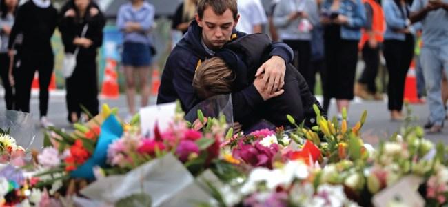 New Zealand mosque massacre: PM vows gun law reform