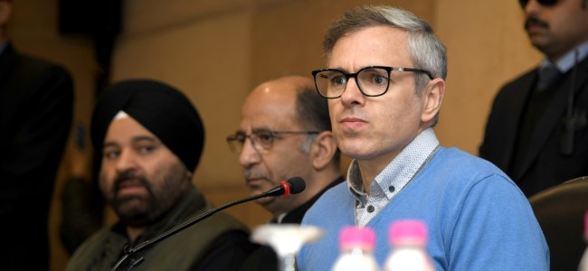 Amit Shah, PDP lying on AFSPA: Omar Adullah