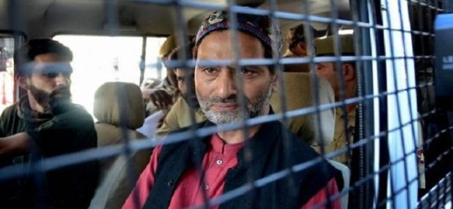 JKLF chief to face trial in Jammu in cases of gunning down of IAF personnel, Rubiya Syed kidnapping