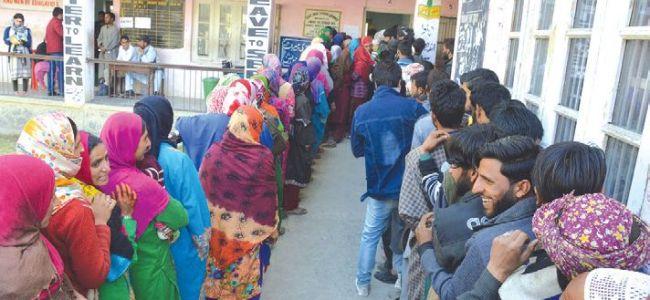 Anantnag records 13.63 percent voter turnout