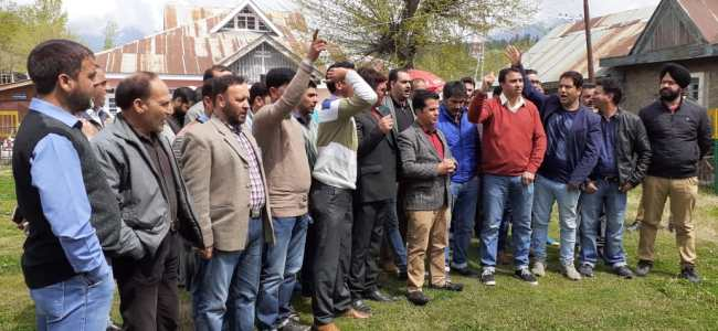 Doctors in Kupwara protest against termination of colleague over alleged negligence