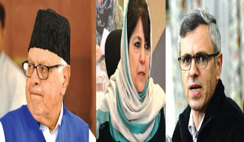 Plea to bar 3 former JK CM's from poll participation dismissed