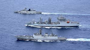 Indian naval ships arrive, Pak to miss Chinese navy's fleet review
