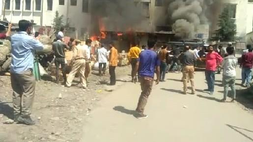 Fire breaks out in District hospital Ramban