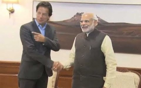 For friendly relations environment of trust needs to be created: Modi tells Imran